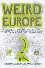 Cover of: Weird Europe