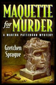 Cover of: Maquette for murder