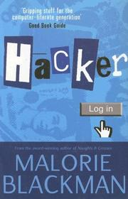 Cover of: Hacker | Malorie Blackman
