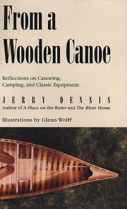Cover of: From a wooden canoe | Jerry Dennis