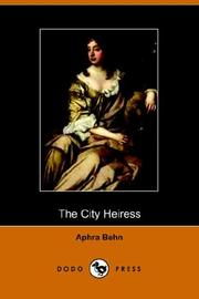 Cover of: The City Heiress