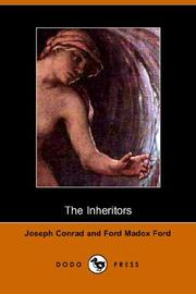 Cover of: The Inheritors | Joseph Conrad