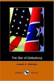 Cover of: The Star of Gettysburg