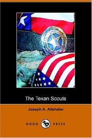 Cover of: The Texan Scouts | Joseph A. Altsheler