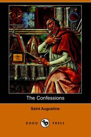 Confessions by Saint Augustine's Abbey (Bristol, England), Augustine of Hippo