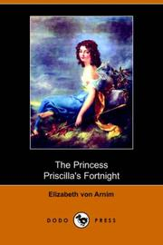 Cover of: The Princess Priscilla