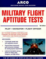 Cover of: Military Flight Aptitude Tests