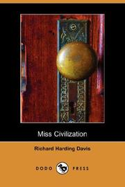 Cover of: Miss Civilization