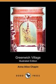 Greenwich Village by Anna Alice Chapin
