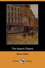 Cover of: The Aspern Papers (Dodo Press) | Henry James Jr.
