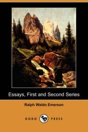 Cover of: Essays, First and Second Series