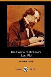 Cover of: The Puzzle of Dickens