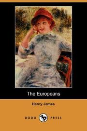 Cover of: The Europeans (Dodo Press) | Henry James Jr.