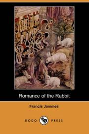 Cover of: Romance of the Rabbit