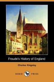 Cover of: Froude's History of England