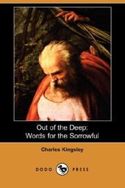 Cover of: Out of the Deep: Words for the Sorrowful