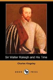 Cover of: Sir Walter Raleigh and His Time