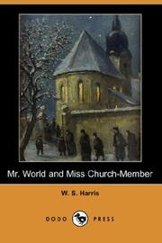Cover of: Mr. World and Miss Church-Member