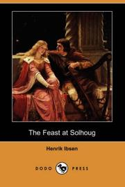 Cover of: The Feast at Solhoug