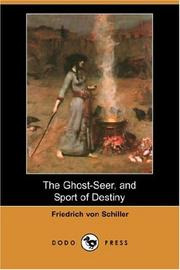 Cover of: The Ghost-Seer, and Sport of Destiny