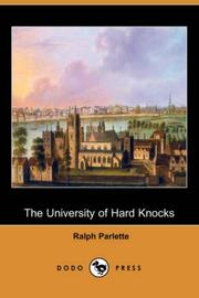 Cover of: The University of Hard Knocks (Dodo Press) | Ralph Parlette