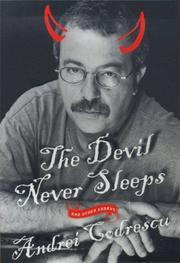 Cover of: The Devil never sleeps and other essays