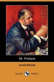 Mr. Prohack by Arnold Bennett