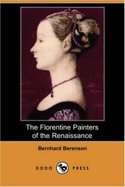 Cover of: The Florentine Painters of the Renaissance
