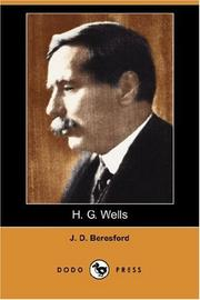 Cover of: H. G. Wells (Dodo Press) | J. D. Beresford