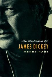 Cover of: James Dickey | Hart, Henry