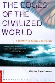 Cover of: The Edges of the Civilized World | Alison Hawthorne Deming