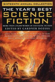 Cover of: The Year's Best Science Fiction