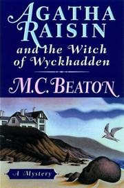 Cover of: Agatha Raisin and the witch of Wyckhadden