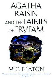 Cover of: Agatha Raisin and the fairies of Fryfam | M. C. Beaton