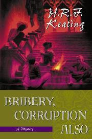 Cover of: Bribery, corruption also