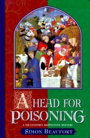 Cover of: A head for poisoning