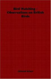 Cover of: Bird Watching - Observations on British Birds
