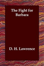 Cover of: The Fight for Barbara: a comedy