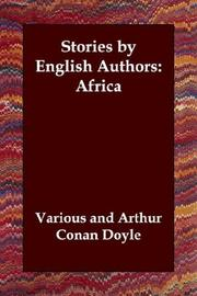 Cover of: Stories by English Authors: Africa