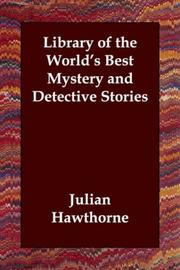Cover of: Library of the World's Best Mystery and Detective Stories