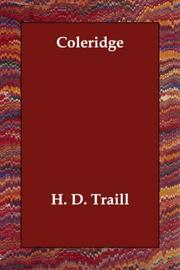 Coleridge by Traill, H. D.
