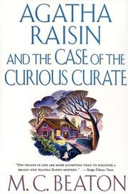 Cover of: Agatha Raisin and the case of the curious curate