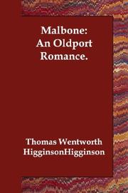 Cover of: Malbone: An Oldport Romance