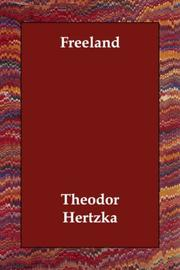 Cover of: Freeland | Theodor Hertzka