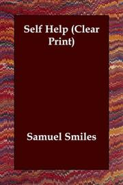 Cover of: Self Help (Clear Print) by Samuel Smiles