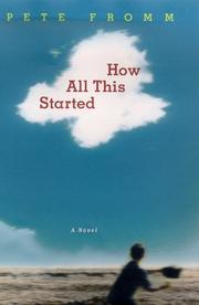 Cover of: How all this started