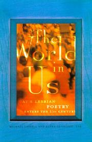 Cover of: The world in us