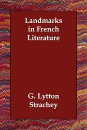 Cover of: Landmarks in French Literature