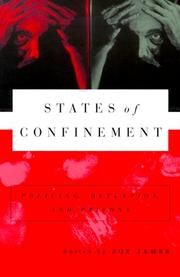 Cover of: States of Confinement: Policing, Detention, and Prisons