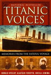 Cover of: Titanic Voices |